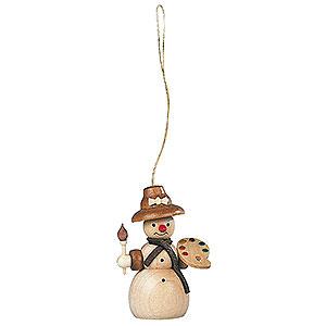 Tree ornaments Snowmen Tree Ornament - Snowwoman - 8 cm / 3 inch
