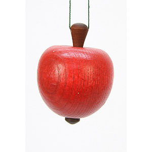 Tree ornaments Misc. Tree Ornaments Tree ornament Apple  - 4,0 / 5,3 cm - 2 x 2 inch