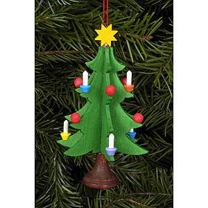 Tree ornaments Christmas Tree ornament Christmastree - 5,0 x 9,8 cm / 2 x 4 inch