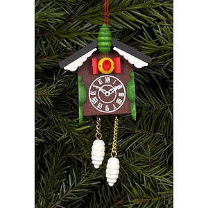 Tree ornaments Misc. Tree Ornaments Tree ornament Cuckoo clock - 5,7 x 8,8 cm / 2 x 3 inch
