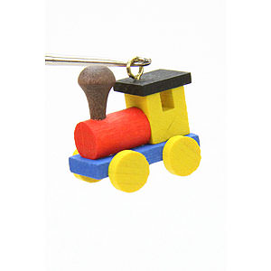 Tree ornaments Toy Design Tree ornament Engine - 2,4 / 2,3 cm - 1 x 1 inch