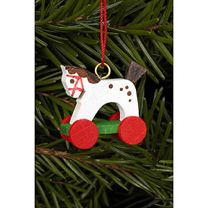 Tree ornaments Toy Design Tree ornament Horse Mini - 2,5 / 2,2 cm - 1 x 1 inch