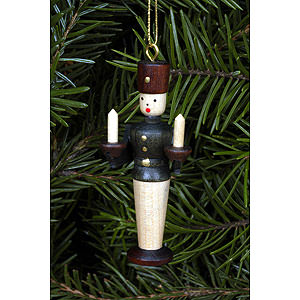 Tree ornaments Dwarfs & others Tree ornament Miner natural colors - 5,5 cm / 2 inch