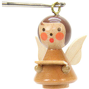 Tree ornaments Angel Ornaments Misc. Angels Tree ornament Mini-Angel natural colors - 1,7 x 2,5 cm / 1 x 1 inch