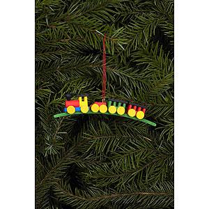 Tree ornaments Toy Design Tree ornament Mini-Train - 10,5 x 2,1 cm / 0 inch