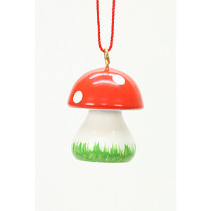 Tree ornaments Misc. Tree Ornaments Tree ornament Mushroom  - 1,8 x 2,4 cm / 1 x 1 inch
