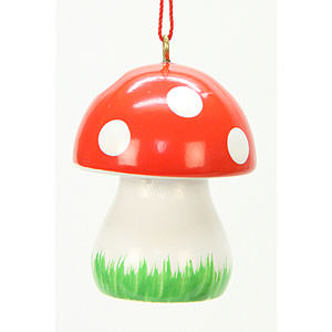 Tree ornaments Misc. Tree Ornaments Tree ornament Mushroom  - 2,6 x 3,6 cm / 1 x 1 inch
