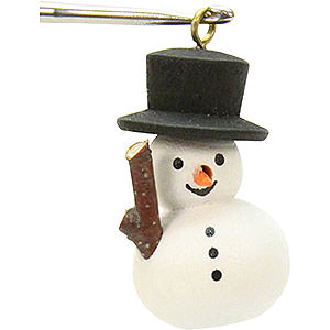 Tree ornaments Snowmen Tree ornament Snowman - 1,1 x 3,0 cm / 1 x 1 inch