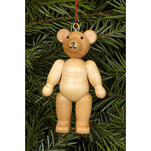 Tree ornaments Misc. Tree Ornaments Tree ornament Teddy natural colors - 4,5 / 6,2 cm - 2 x 2 inch