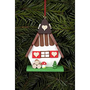 Tree ornaments Misc. Tree Ornaments Tree ornament Witch house - 5,2 x 7,2 cm / 2 x 3 inch