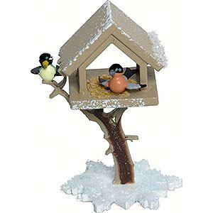 Kleine Figuren & Miniaturen Kuhnert Schneefl�ckchen Vogelhaus - 7cm