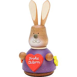 Kleine Figuren & Miniaturen Tiere Hasen Wackelhase mit Herz - 9,8cm