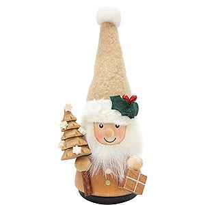 Kleine Figuren & Miniaturen alles Andere Wackelmännchen Weihnachtsmann natur - 11,5 cm