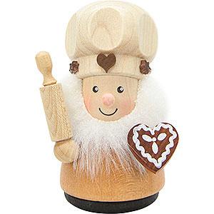 Kleine Figuren & Miniaturen alles Andere Wackelmännchen Zuckerbäcker natur - 8,0 cm