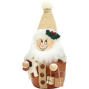 Kleine Figuren & Miniaturen alles Andere Wackelwichtel Weihnachtsmann natur - 15,5 cm