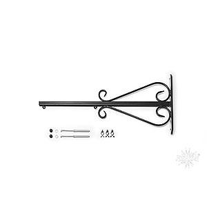 Adventssterne und Weihnachtssterne Herrnhuter Stern A4 Wandarm für 29-00-A4 und 29-00-A7, schwarz