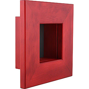 Kleine Figuren & Miniaturen Björn Köhler Wandrahmen Wandrahmen rot - 23x23x8 cm
