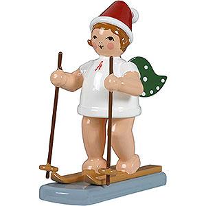 Weihnachtsengel Weihnachtsengel (Ellmann) Weihnachtsengel mit Mütze und Schneeschuhen - 6,5 cm