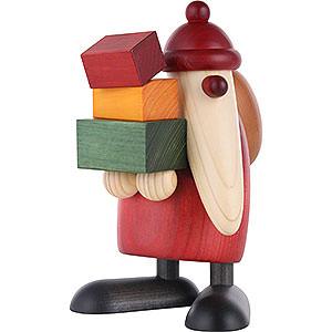 Kleine Figuren & Miniaturen Björn Köhler Weihnachtsmänner gr. Weihnachtsmann, Geschenke tragend - 19 cm