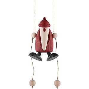 Kleine Figuren & Miniaturen Björn Köhler Weihnachtsmänner kl. Weihnachtsmann kletternd - 9cm