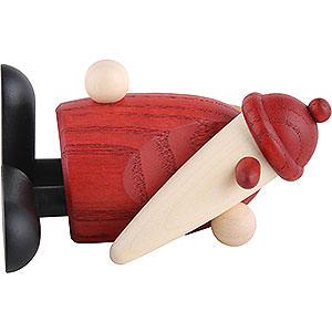 Kleine Figuren & Miniaturen Björn Köhler Weihnachtsmänner kl. Weihnachtsmann liegend - 9cm