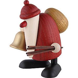 Kleine Figuren & Miniaturen Björn Köhler Weihnachtsmänner kl. Weihnachtsmann mit Glocke und Rute - 9cm