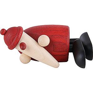 Kleine Figuren & Miniaturen Björn Köhler Weihnachtsmänner kl. Weihnachtsmann schlafend - 9cm