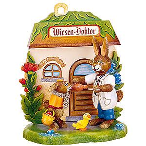 Kleine Figuren & Miniaturen Tiere Hasen Wiesen - Doktor - 12cm