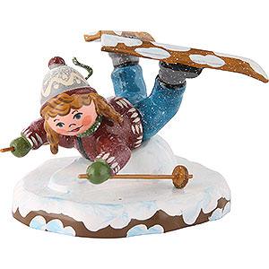 Kleine Figuren & Miniaturen Hubrig Winterkinder Winterkinder Bauchlandung - 7 cm