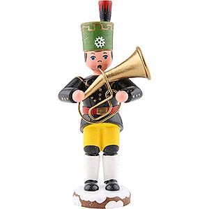 Kleine Figuren & Miniaturen Hubrig Winterkinder Winterkinder Bergmann Tenorhorn - 9cm