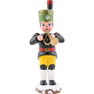 Kleine Figuren & Miniaturen Hubrig Winterkinder Winterkinder Bergmann Trompete - 9 cm
