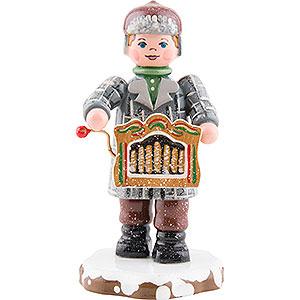 Kleine Figuren & Miniaturen Hubrig Winterkinder Winterkinder Drehorgelspieler - 7,5cm
