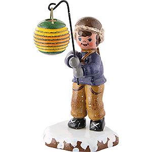 Kleine Figuren & Miniaturen Hubrig Winterkinder Winterkinder Junge mit Kugellampion - 10cm