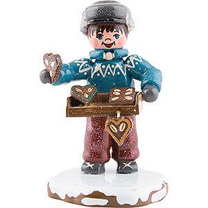Kleine Figuren & Miniaturen Hubrig Winterkinder Winterkinder Leckere Lebkuchen - 6,5 cm