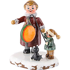 Kleine Figuren & Miniaturen Hubrig Winterkinder Winterkinder Meine große Schwester und ich - 8cm