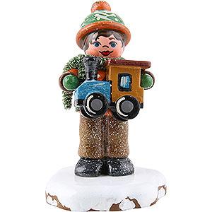 Kleine Figuren & Miniaturen Hubrig Winterkinder Winterkinder Paulchens Weihnachtswunsch - 5cm