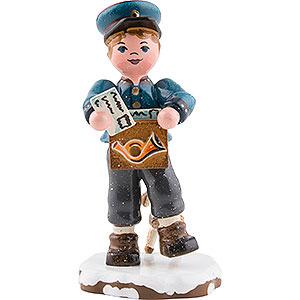 Kleine Figuren & Miniaturen Hubrig Winterkinder Winterkinder Postbote - 8cm