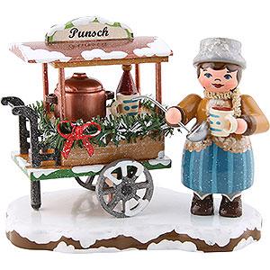 Kleine Figuren & Miniaturen Hubrig Winterkinder Winterkinder Punschwagen - 8 cm