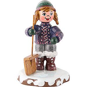 Kleine Figuren & Miniaturen Hubrig Winterkinder Winterkinder Schneefeger - 6cm