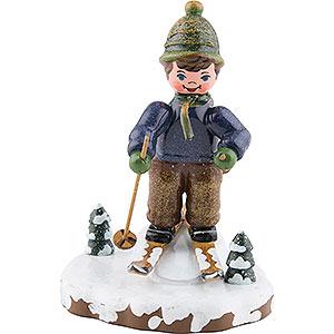 Kleine Figuren & Miniaturen Hubrig Winterkinder Winterkinder Schneeschuhfahrt - 8cm