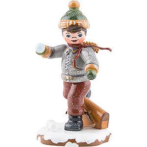 Kleine Figuren & Miniaturen Hubrig Winterkinder Winterkinder Schuljunge - 7 cm