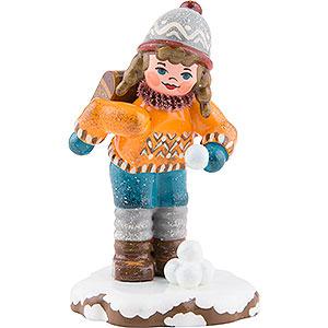 Kleine Figuren & Miniaturen Hubrig Winterkinder Winterkinder Schulmädchen - 7cm