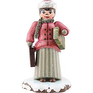 Kleine Figuren & Miniaturen Hubrig Winterkinder Winterkinder Weihnachtseinkäufe - 7,5cm