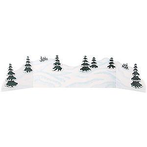 Kleine Figuren & Miniaturen Hubrig Winterkinder Winterlandschaft - Diorama - zw. 100 und 115 cm verstellbar