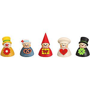 Kleine Figuren & Miniaturen alles Andere Wippel-Mix, 5er Satz - 4cm