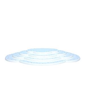 Weihnachtsengel Engelswolken/Zubeh�r Wolke wei� 4tlg. - B 44,5 cm