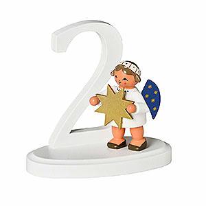 Weihnachtsengel Buchstaben-/Zahlen-Engel Zahl